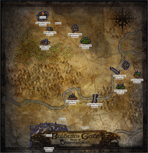 BG:SOD World Map
