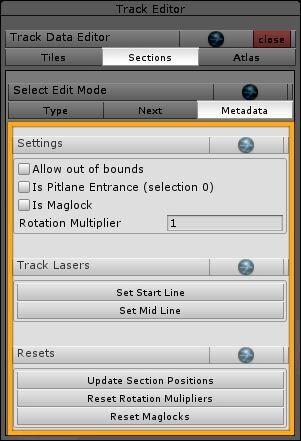 sections > metadata