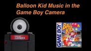 Balloon Kid Music & Sounds in Game Boy Camera