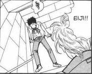 Ash checks on Eiji