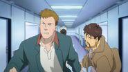 Shunichi and Max run away from the nurse