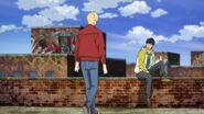 Eiji tells Ash up already