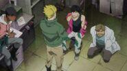 Arthur tells Eiji to talk