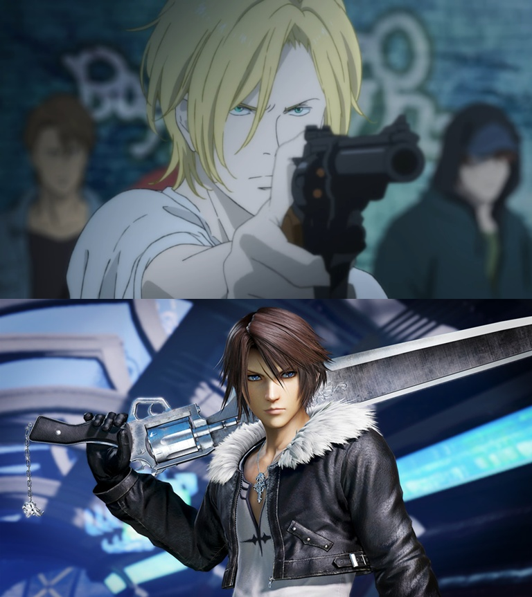 Ephaporia/The Similarities of Banana Fish and Final Fantasy VIII