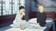 Eiji tells Ash that he scared him and not to do that