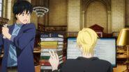 Eiji tells Ash fine, I will then