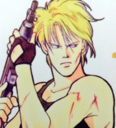 Ash with a gun