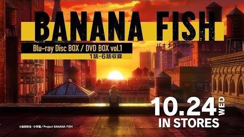 TVアニメ「BANANA FISH」Blu-ray BOX/DVD BOX vol.1 発売告知CM ED ver. │ 10