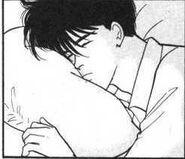 Eiji sleeping