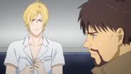 Shunichi becomes quiet