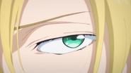 Ash makes his eyes more attractive