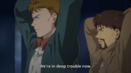 Shunichi tells Max that their in deep trouble now