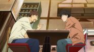 Shunichi tells Eiji who knows when the mafia will come after him