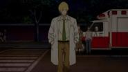 Ash walks off to find Eiji