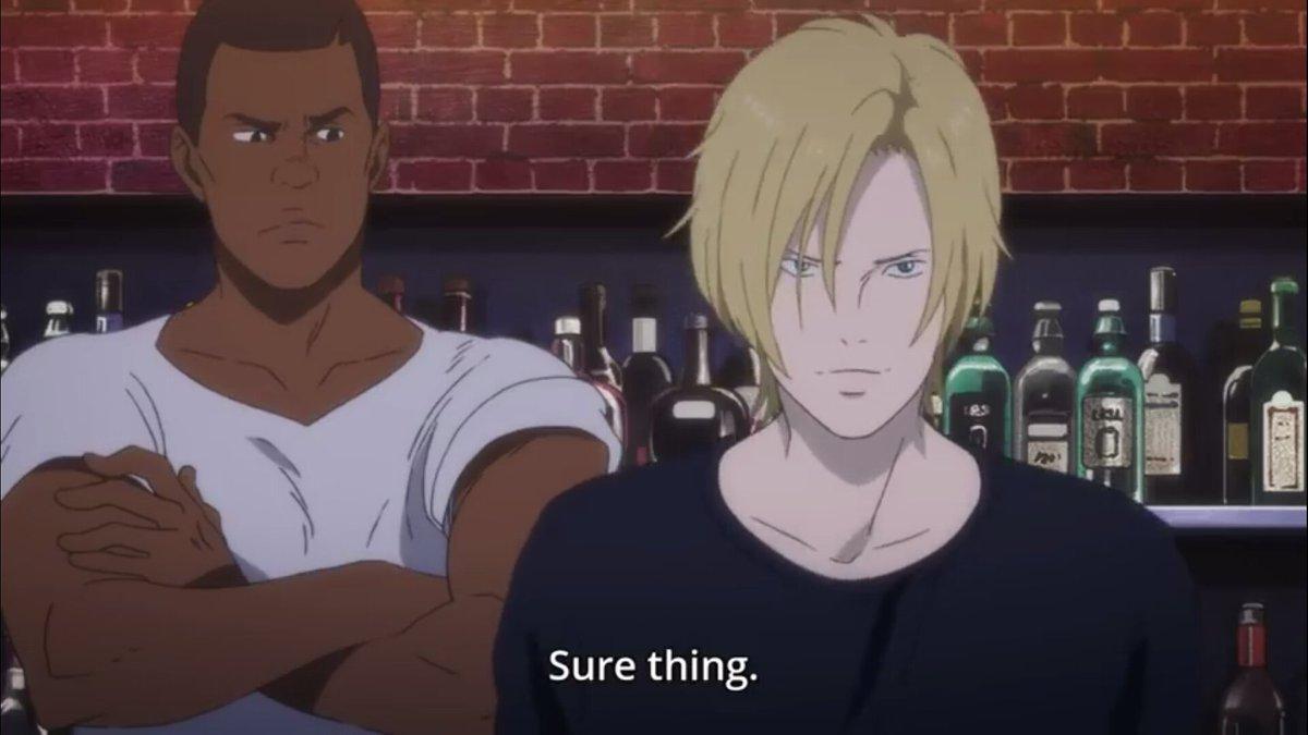 Ash tells Eiji sure thing.jpg