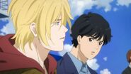 Ash tells Eiji that lots of people have only seen the ocean on TV