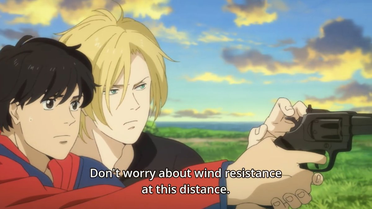 Ash tells Eiji don't worry about wind resistance at this distance.jpg