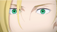 Ash suddenly opens his eyes but still lack of shine