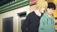Ash tells Eiji sorry for yelling at you
