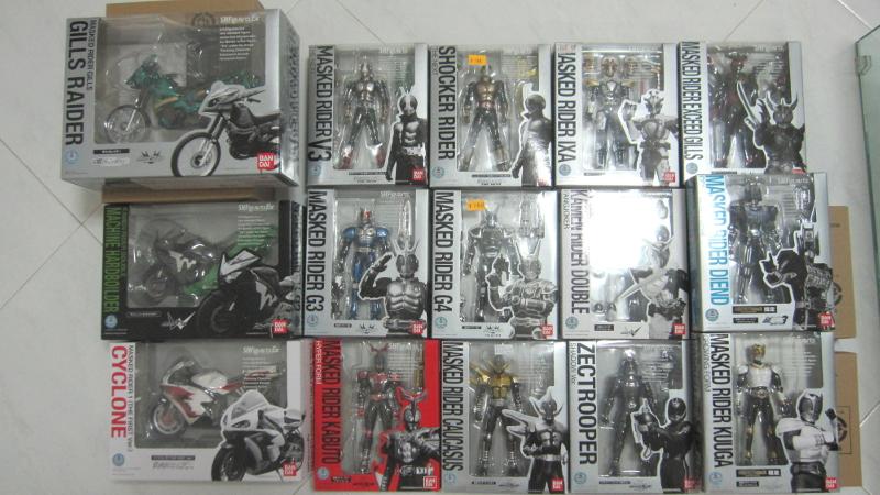 Agito Completed Figure BANDAI S.H Figuarts Kamen Rider G3