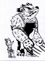 Crash bandicoot vs tiny tiger by danyq94-d3l1sy7