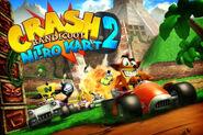 Crash Bandicoot Nitro Kart 2 by Fiercey Kun