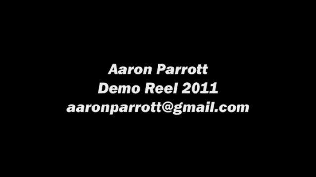 Aaron's 2011 Demo Reel