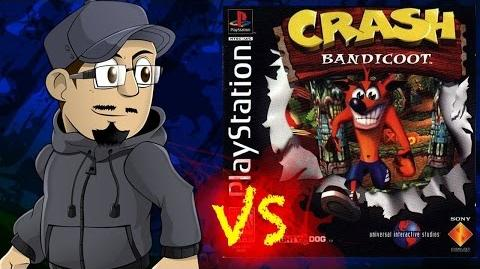 Johnny vs Crash Bandicoot RUS sub