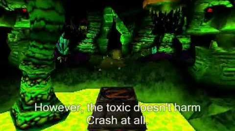 Crash Bandicoot BETA - Cavern beta level review-0