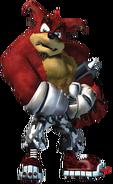 Crash Twinsanity Crunch Bandicoot