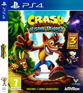 Crash NSane Trilogy Cover EU