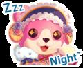 A Fleeting Night's Dream Worldwide Event Stamp