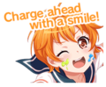 I Need You! Worldwide Event Stamp