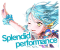 Summer in the Shining Land of Water Worldwide Event Stamp
