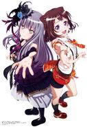 BanG Dream! Second Season Kasumi and Yukina Key Visual