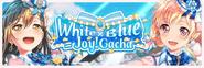 White × Blue = Joy! Worldwide Gacha Banner