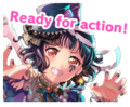 Band Girls of the Dead Worldwide Event Stamp