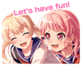Play act! Challenge*Audition Worldwide Event Stamp