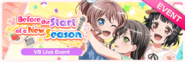 Before the Start of a New Season Worldwide Event Banner