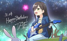Tae Birthday Illustration