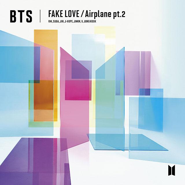 FAKE LOVE/Airplane Pt.2 (single japonés)