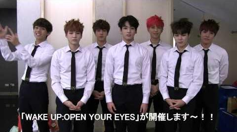 BTS_(防弾少年団)_1st_JAPAN_TOUR_2015「WAKE_UP-OPEN_YOUR_EYES」コメント