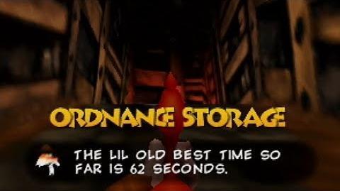 Ordnance Storage in 62 Seconds