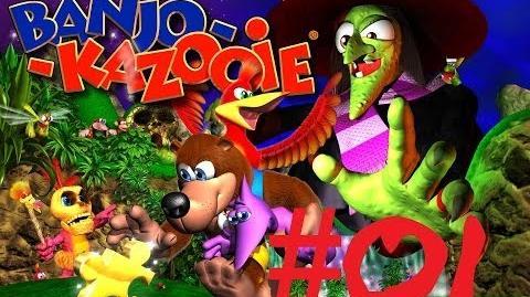 Let's Play Banjo-Kazooie Folge 01 Ein Bär, ein Vogel und eine Hexe! XBLA 100% HD