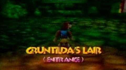 Banjo-Kazooie Music Gruntilda's Lair