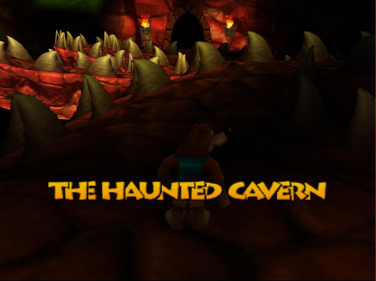 The Haunted Cavern