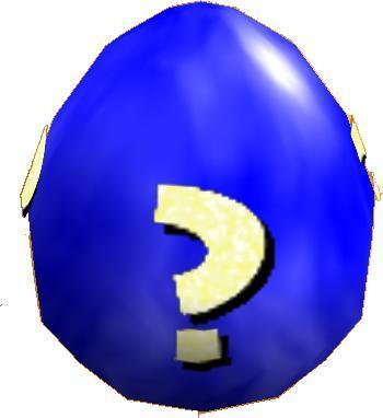 Blue Mystery Egg