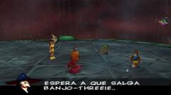 Gruntilda mencionando Banjo-Threeie.png