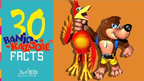 Banjo Kazooie Facts! (w Rapidly Tap A!) - It's Super Effective!!! 30 Banging facts!