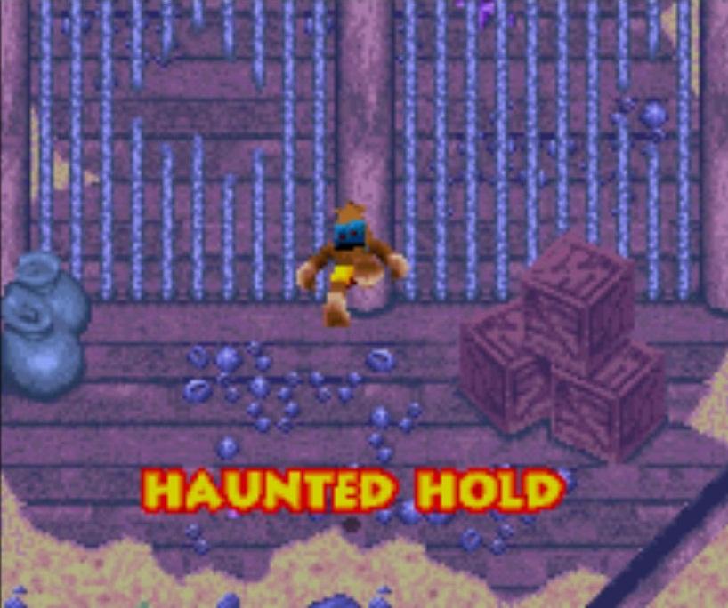 Haunted Hold